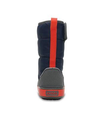 detské topánky Crocs Lodge Point Snow Boot - Navy Slate Gray - snowboard -online.sk 944cce82c8