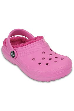 1924922ce3b boty Crocs Classic Lined Clog - Party Pink Candy Pink ...