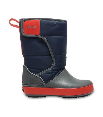 detské topánky Crocs Lodge Point Snow Boot - Navy Slate Gray. Na sklade ‐  13. 3. u teba doma -41% 5915eb8d60c