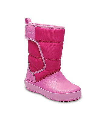 d21de1f76e7 boty Crocs Lodge Point Snow Boot - Candy Pink Party Pink