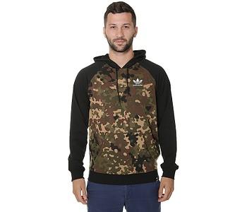 pánske. mikina adidas Originals Clima 2.0 Camuflage - Camo Print Black 82fd146a567