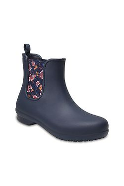 466c7fa15ad boty Crocs Freesail Chelsea Boot - Navy Floral ...