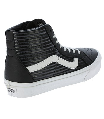 dca5c319b413 shoes Vans Sk8-Hi Reissue - Moto Leather/Black/Blanc De Blanc. IN STOCK ‐  by 6. 3. at your home -40%