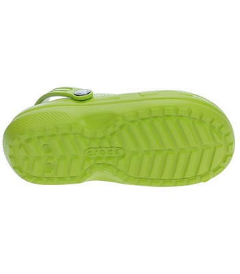b1c20be3d75 boty Crocs Classic Lined Clog - Volt Green Navy