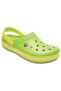 c111ecfc1cc boty Crocs Crocband - Volt Green Lemon ...