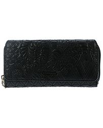 peněženka Desigual 17WAYPFB Padded Pu Lottie - 2000 Negro 0bfcff0c22
