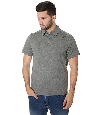 32dfa0b75a2a tričko Fox Legacy Polo - Heather Graphite
