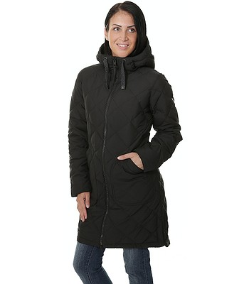 2589909cce kabát Burton Bixby Long Down - True Black | Blackcomb.cz