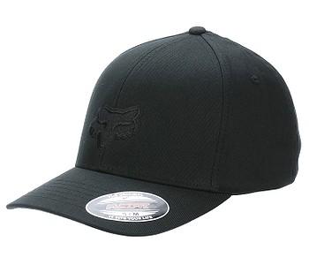 kšiltovka Fox Legacy Flexfit - Black/Black