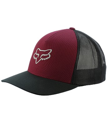 7d4e866f389 kšiltovka Fox Heads Up Trucker - Dark Red