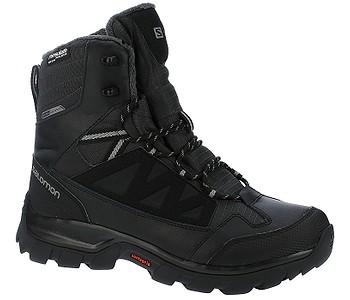 6617c91fa7 TOPÁNKY SALOMON CHALTEN TS CSWP - BLACK ASPHALT PEWTER - skate-online.sk