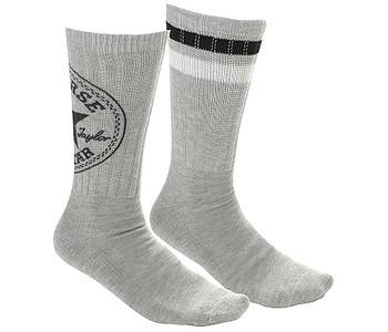 ponožky Converse Fashion Crew 360 Chuck Patch 2 Pack - E556L Light Gray  Melange  3401cbe60b