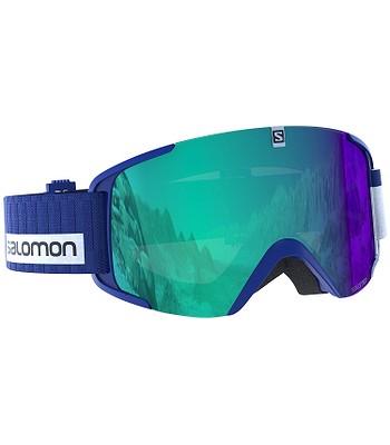 okuliare Salomon Xview Photo - Blue All Weather Blue - snowboard ... cf2751c3ee7