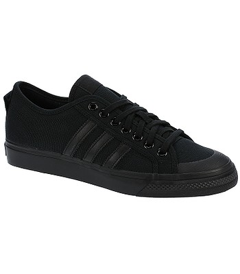a4efbf9b566 boty adidas Originals Nizza Low - Core Black Core Black Core Black ...