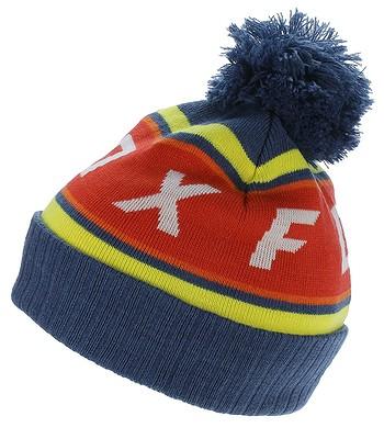 čepice Fox Black Diamond Pom - Dusty Blue - snowboard-online.cz 92816517ce