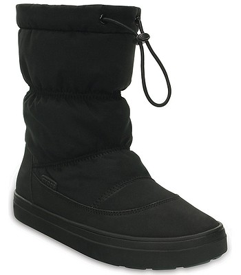 03d1cbb8e topánky Crocs Lodgepoint Pull-On Boot - Black - snowboard-online.sk