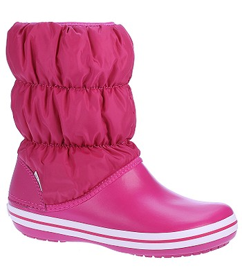 boty Crocs Winter Puff Boot - Candy Pink Candy Pink - snowboard ... c4c6954797f