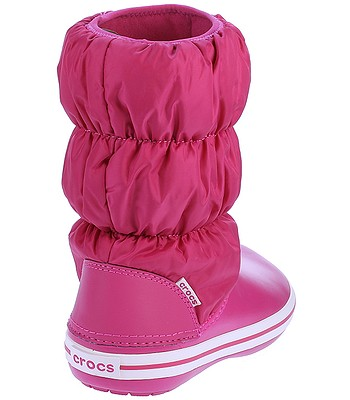 boty Crocs Winter Puff Boot - Candy Pink Candy Pink  ba0bd38d6e