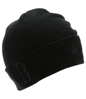 885101cad beanie New Era Seasonal Cuff MLB Boston Red Sox - Black/Black -  snowboard-online.eu