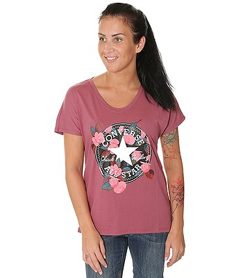 d20cfe0230b tričko Converse Floral CP Femme 10004655 - A05 Port