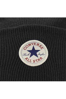... čepice Converse Tall Cuff Watchcap Knit - 561325 Converse Black 9ec4b530b2
