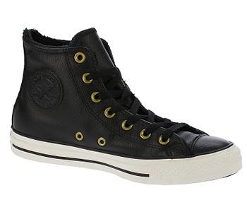 dámske. topánky Converse Chuck Taylor All Star Hi - 557925 Black Black Egret 4c67ec33bbb