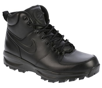 b1377d0f55b boty Nike Manoa Leather - Black Black Black - boty-boty.cz - doprava ...