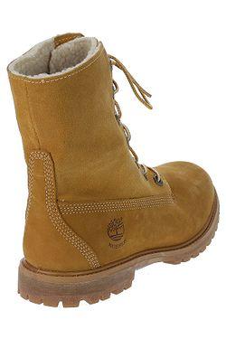 ... boty Timberland Authenitcs Teddy Fleece Waterproof Fold-Down -  8329R Wheat Nubuck 18c48aefa82