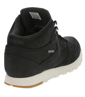 06f25bc6fe7 shoes Reebok Classic Leather Mid GTX Thin - Black Paperwhite Gum. IN STOCK
