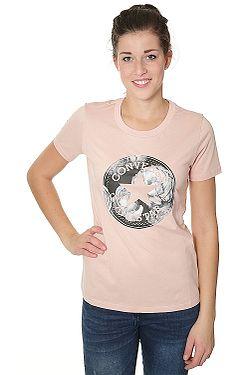a60c7818fe4 tričko Converse Floral CP Fill Crew 10004602 - A01 Dusk Pink