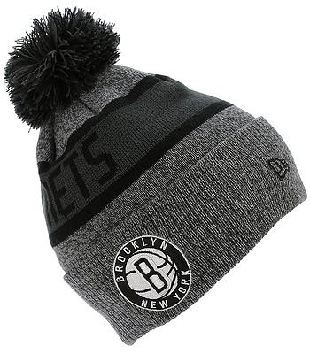 6481282d7c533 beanie New Era NBA Marl Knit NBA Brooklyn Nets - Gray/Official Team Colour  - blackcomb-shop.eu