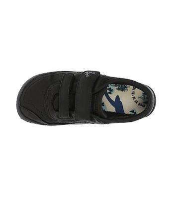 dětské boty Vivobarefoot Reno K - Leather Black Hide  c58be6e859