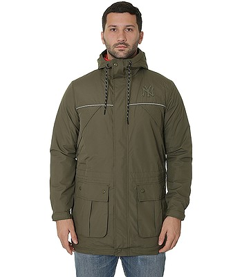 e277087712a27 jacket New Era NTC Parka MLB New York Yankees - New Olive -  snowboard-online.eu