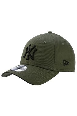 kšiltovka New Era 9FO League Esstential MLB New York Yankees - New Olive/Black