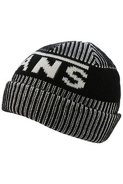 Velikosti skladem one size. čepice Vans Stripe Cuff - Black White ... c857953641
