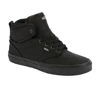 boty Vans Atwood HI - H17 Leather Black Black - boty-boty.cz ... df894c672f