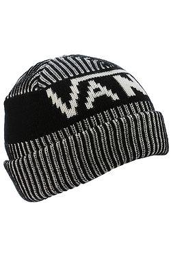 ... čepice Vans Stripe Cuff - Black White e29148d47a