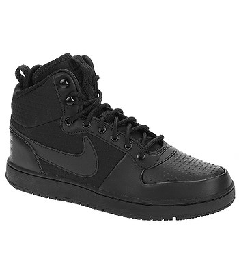 topánky Nike Court Borough Mid Winter - Black Black - snowboard ... 6a67dfca522