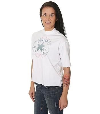 67334f9fa07 tričko Converse Shine Pack CP Mock Neck 10004668 - A03 Converse White -  snowboard-online.sk