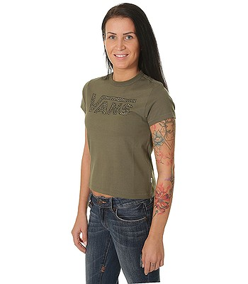 5353fccd03f050 T-shirt Vans Leopard Flying V - Grape Leaf - blackcomb-shop.eu