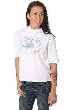 tričko Converse Shine Pack CP Mock Neck 10004668 - A03 Converse White 3148d2eca7