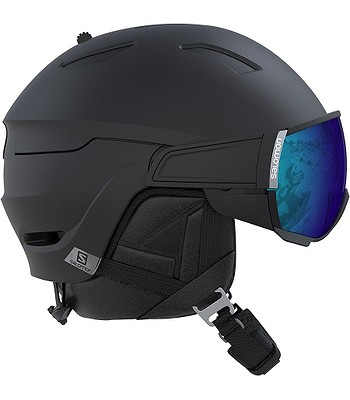helma Salomon Driver+ - Black Silver - snowboard-online.sk de3de590f74