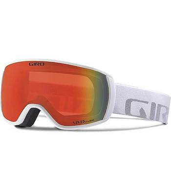 okuliare Giro Balance - White Wordmark Vivid Ember - snowboard-online.sk a16636ce269