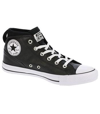 boty Converse Chuck Taylor All Star Syde Street Mid -  157537 Black Black White 0f8ba72e76f