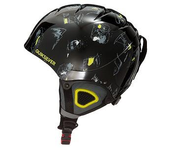 HELMA QUIKSILVER THE GAME - KVJ8 BLACK DARK DOGGY SNOW - skate-online.sk db708e45c69