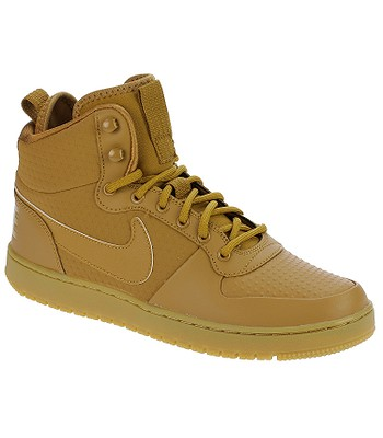 boty Nike Court Borough Mid Winter - Wheat Wheat Black Gum Light Brown  c830a058493