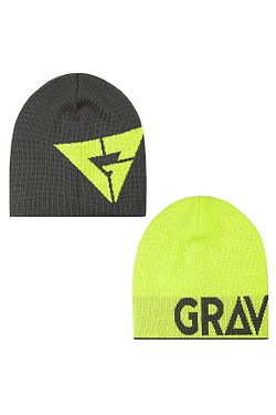 čiapka Gravity Logo Revesible - Gray Lime a878c40215e