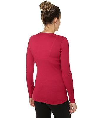 9fdd9199907e tričko Husky Merino LS - Red