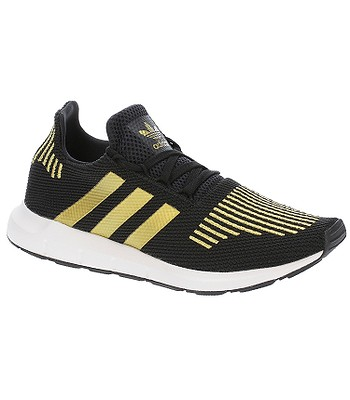 4e1a69585 boty adidas Originals Swift Run - Core Black/Gold Metallic/White ...
