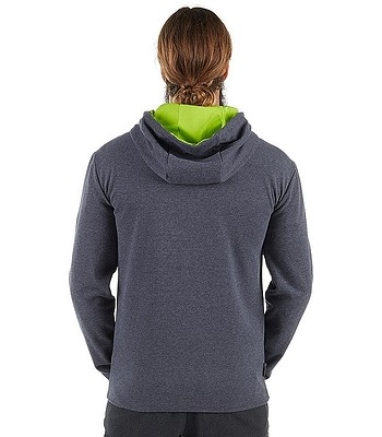 ef80ecf36a sweatshirt Mammut Logo ML - Graphite Melange Sprout - blackcomb-shop.eu
